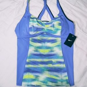 "Nike womens ""tankini"" XL top"